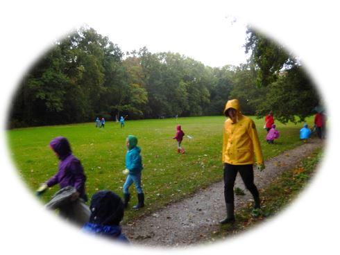 Opruimactie Bos van Bosman woensdag 23 oktober