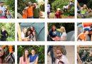 Foto's kampeerweekend staan on-line
