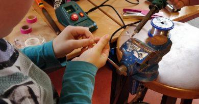 Workshop lampje knutselen