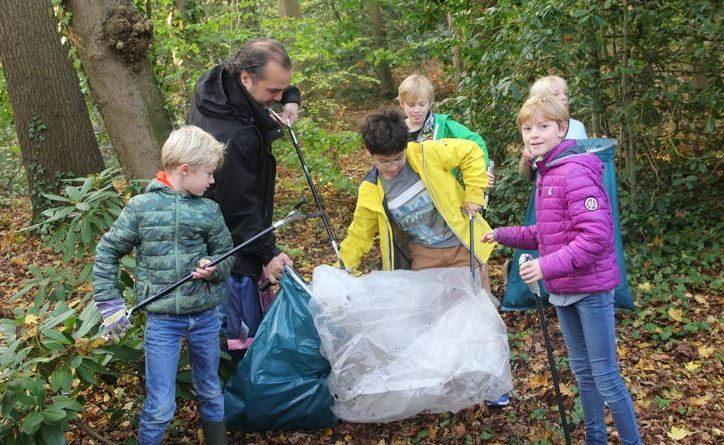 Opruimen Bos van Bosman woensdag 24 oktober